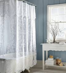 bathroom curtain ideas for windows brown ceramic polished floor