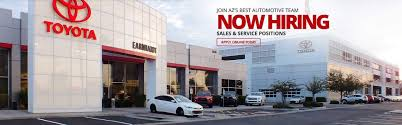 toyota dealer sales earnhardt toyota dealer mesa az serving phoenix scottsdale tempe