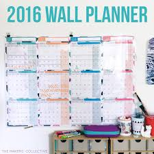 design planner the 2016 wall planner design has landed the makers collective