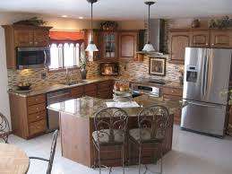 How To Design A Kitchen Island Layout Best 25 Small Kitchen With Island Ideas On Pinterest