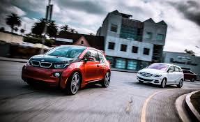 bmw electric car 2014 bmw i3 vs 2014 mercedes benz b class electric drive