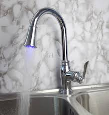 led kitchen faucet 2017 led kitchen chrome brass basin sink mixer tap swivel amp