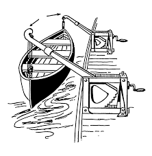 coloring pages of the titanic davit wikipedia