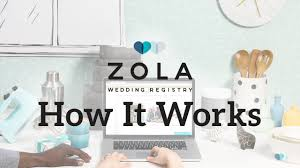 all in one wedding registry zola the all in one wedding registry how it works
