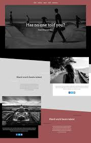 how to creatively use divi u0027s new row alignment options elegant