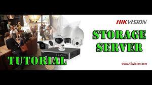 hikvision storage server setup on dell i5 machine tutorial free