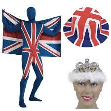 Uk Flag Dress Naff Clothing Vintage Clothes Fancy Dress U0026 More