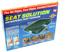 Orthopaedic Seat Cushion New Orthopedic Seat Cushion Back Support Solution Coccyx
