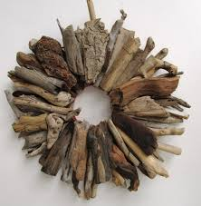 driftwood wreath rustic home decor beach home decor made to