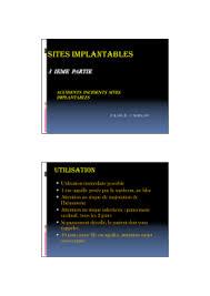 rincage pulsé chambre implantable la manipulation de la chambre implantable en hématologie