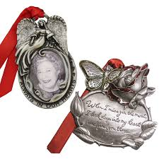 gloria duchin memorial christmas ornament 2 piece set walmart com