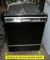 Quiet Dishwashers Door Latch Broken Can U0027t Open Door