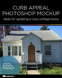 Cottage Curb Appeal - writing elsewhere cute cottage makeover u2022 ad aesthetic
