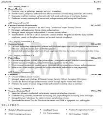 Federal Resume Cover Letter Military Resume Example Military Cv Example Military Cv Examples