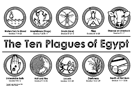 10 plagues coloring page free download