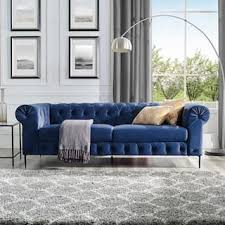 Blue Modern Sofa Blue Modern Contemporary Sofas Couches For Less Overstock