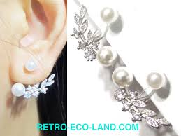 clip on earrings that don t hurt pearl clip on earrings that are comfy to wear look like pierced