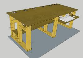 Diy Desk Plans Free by Optimize The Space Through Computer Desk Plans More Ergonomic