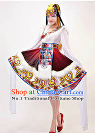 Chinese Costume Halloween Chinese Traditional Tibetan Clothing Complete