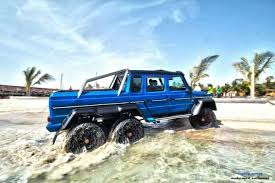 mercedes 6x6 truck blue mercedes g63 amg 6x6 from saudi arabia motorward cars