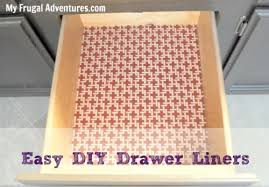 DIY Shelf And Drawer Liners My Frugal Adventures - Kitchen cabinets liners