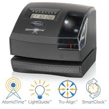 office depot invitations printing lathem atomic time clock with tru align 1600e ulimited employees