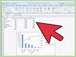 How To Do Excel Spreadsheets How To Create A Pareto Chart In Ms Excel 2010 14 Steps