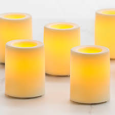 votive led flameless candle 1 75 in battery operated candles