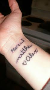 25 trending baby name tattoos ideas on pinterest name tattoos