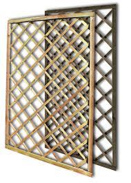traliccio legno pannello traliccio dritto 90x180 cm impregnato in autoclave maglia