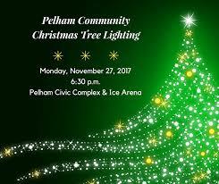 pelham community christmas tree lighting pelham civic center