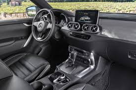 mercedes benz silver lightning interior new mercedes benz x class pickup revealed in full by car magazine