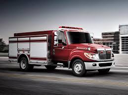 international semi truck 2010 international terrastar firetruck emergency semi tractor