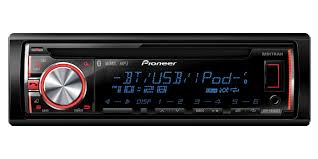 deh x6600bt cd receiver with mixtrax bluetooth usb direct