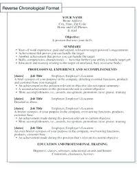 experienced resume sample resume format samples chronological resume samples fresh resume