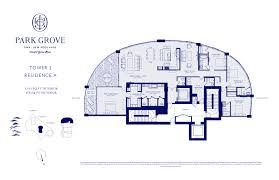 Parkland Residences Floor Plan by Park Grove Coconut Grove Park Grove New Development For Sale