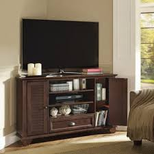 corner tv stands for less overstock com
