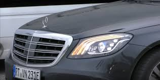 mercedes headlights 2018 mercedes s class prototype shows production headlights and