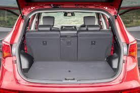 cargo space in hyundai santa fe hyundai santa fe interior autocar