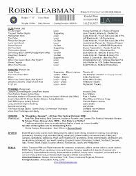 resume templates for word 2007 2 resume templates word 2007 best of resume exles actor resume