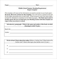 high school book report template book report template for high school best 10 book review template