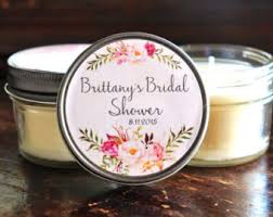 bridal shower favor set of 12 4 oz bridal shower favor candle favor