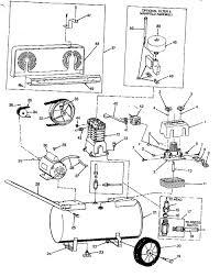 speedaire 3z323e air compressor parts