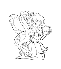 fairy coloring pages getcoloringpages com