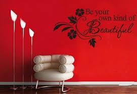 Beautiful Wall Stickers by Kind Of Beautiful Flower Vine Wall Art Vinyl Decal Flower Wall Mural