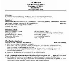 Resume Free Samples Download by Hvac Resume Samples Haadyaooverbayresort Com