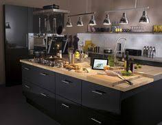 cuisine loft leroy merlin cuisine gris fonce moderne by le fournisseur ixina à