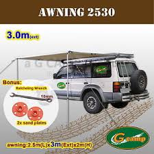 Vehicle Awning G Camp 2 5m X 3m Awning Roof Top Tent Camper Trailer 4wd 4x4