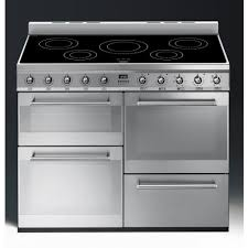 Smeg Induction Cooktops Smeg Syd4110i Symphony Range Cooker 110cm Induction Stainless Steel