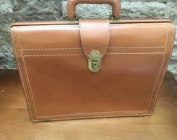 Cowhide Briefcase Briefcase With Key Etsy